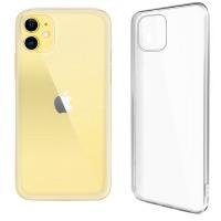 Купить Чехол для сматф. GLOBAL Case (TPU) Extra Slim для Apple iPhone 11 (светлый - 1283126495892