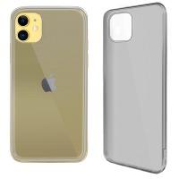 Купить Чехол для сматф. GLOBAL Case (TPU) Extra Slim для Apple iPhone 11 (темный) - 1283126495908