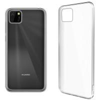 Купить Чехол для сматф. GLOBAL Case (TPU) Extra Slim для Huawei Y5P (светлый) - 1283126503542