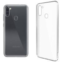 Купить Чехол для сматф. GLOBAL Case (TPU) Extra Slim для Samsung A11 (светлый) - 1283126503566
