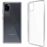 Купить Чехол для сматф. GLOBAL Case (TPU) Extra Slim для Samsung A31 (светлый) - 1283126501937