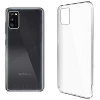 Купить Чехол для сматф. GLOBAL Case (TPU) Extra Slim для Samsung A41 (светлый) - 1283126503603