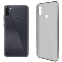 Купить Чехол для сматф. GLOBAL Case (TPU) Extra Slim для Samsung M11 (темный) - 1283126503634