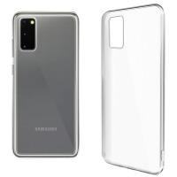Купить Чехол для сматф. GLOBAL Case (TPU) Extra Slim для Samsung S20 (светлый) - 1283126500596