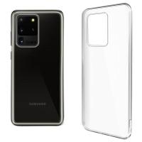 Купить Чехол для сматф. GLOBAL Case (TPU) Extra Slim для Samsung S20 Ultra (светл.) - 1283126500633