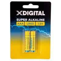 Купить Батарейка X-DIGITAL LR 03 - LR03-2B