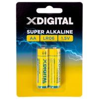 Купить Батарейка X-DIGITAL LR 06 - LR6-2B
