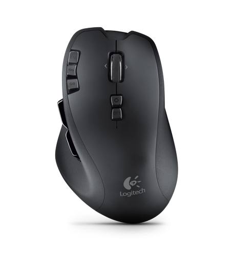 Мышь компьютерная logitech wireless gaming mouse g700