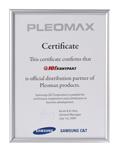 Официальный партнер-дистрибьютор продуктов TM Pleomax. 2009.