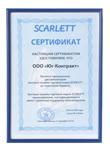 Официальный дистрибьютор бытовой техники ТМ SCARLETT в Украине. 2010.