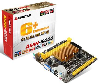 Biostar выпустил плату с несменным процессором